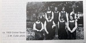 Girls Cricket at OLA
